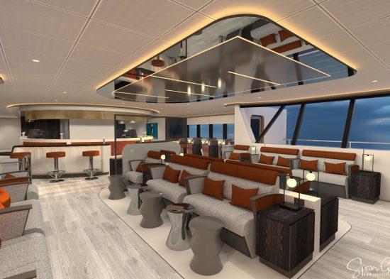 Upper Deck Passenger Lounge - Cafe